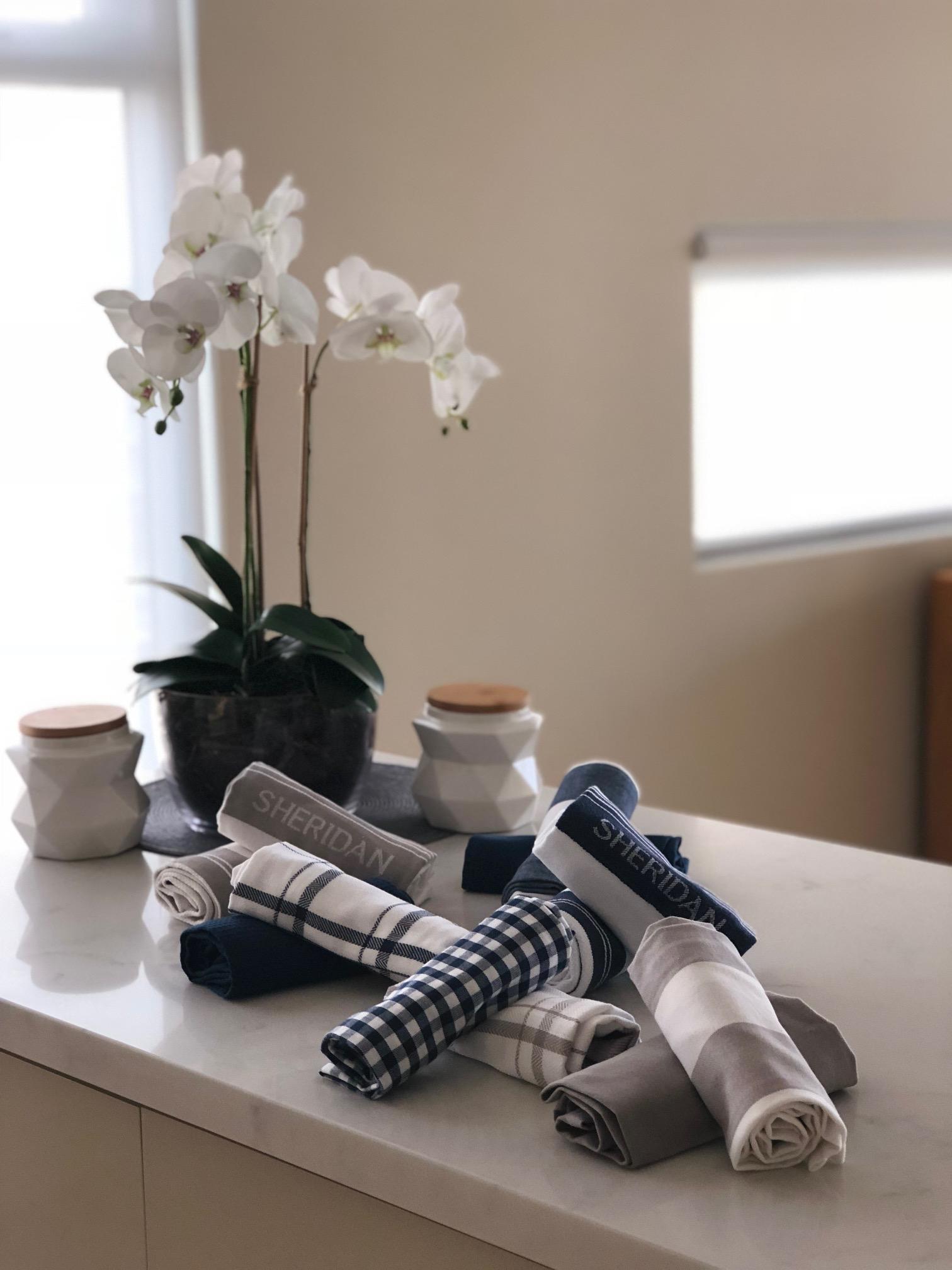 Tea Towels Orchids